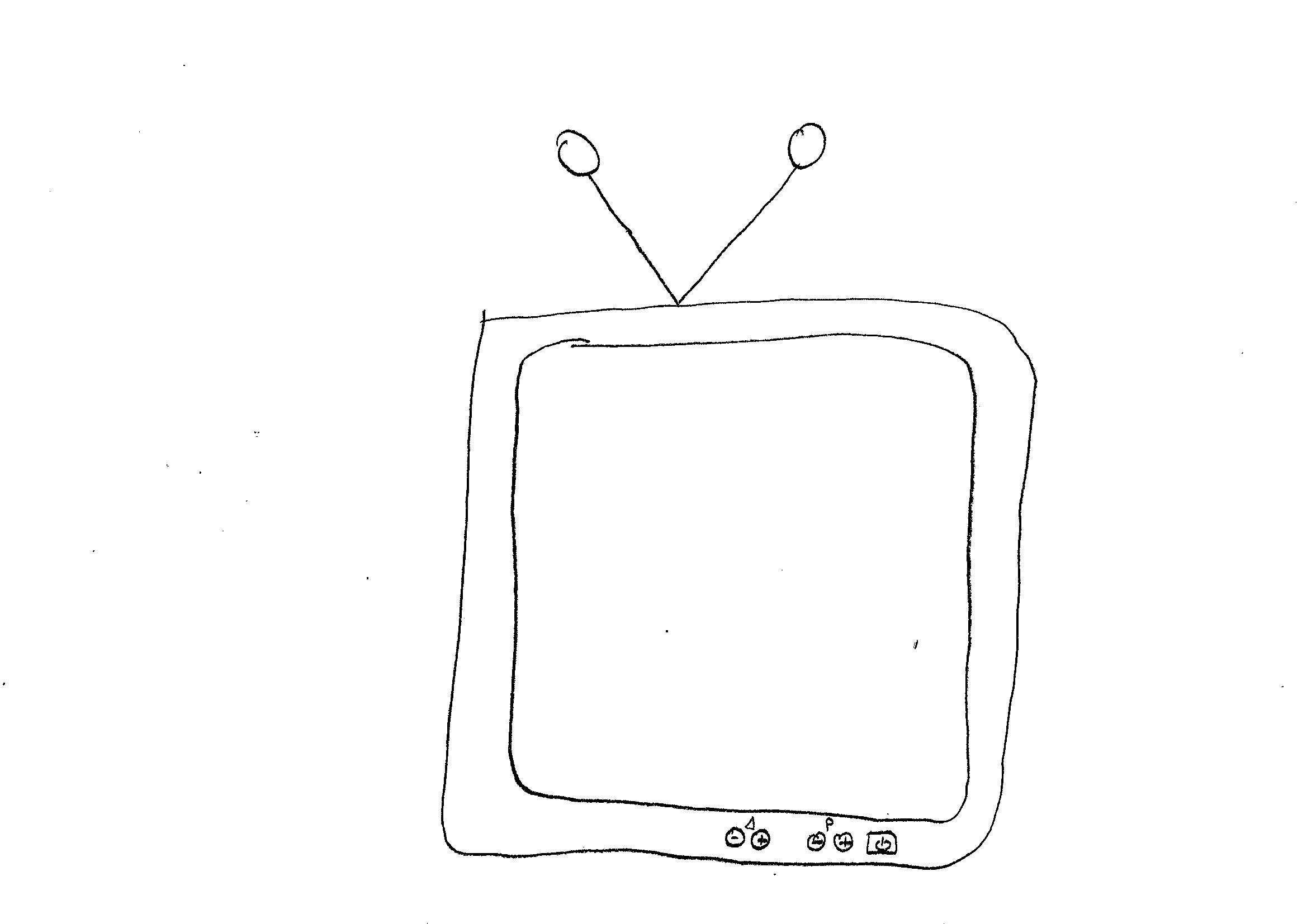 Disegno Televisione Da Colorare.Disegni Da Colorare Bambini I Televisione